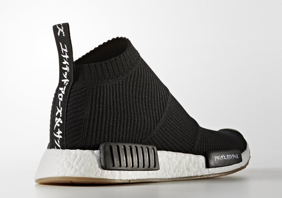 "13df6278e ... United Arrows Sons x adidas NMD City Sock ""MikiType"" Release Date March  25th"