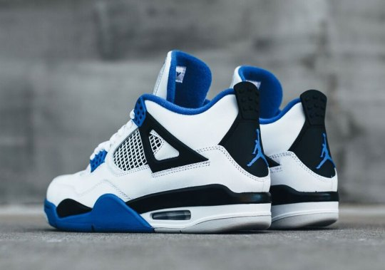 "Where To Buy The Air Jordan 4 ""Motorsports"""