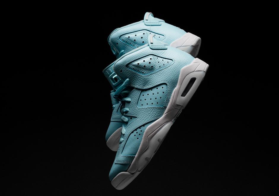 official photos 87d46 3da86 Where To Buy Air Jordan 6 Powder Blue | SneakerNews.com