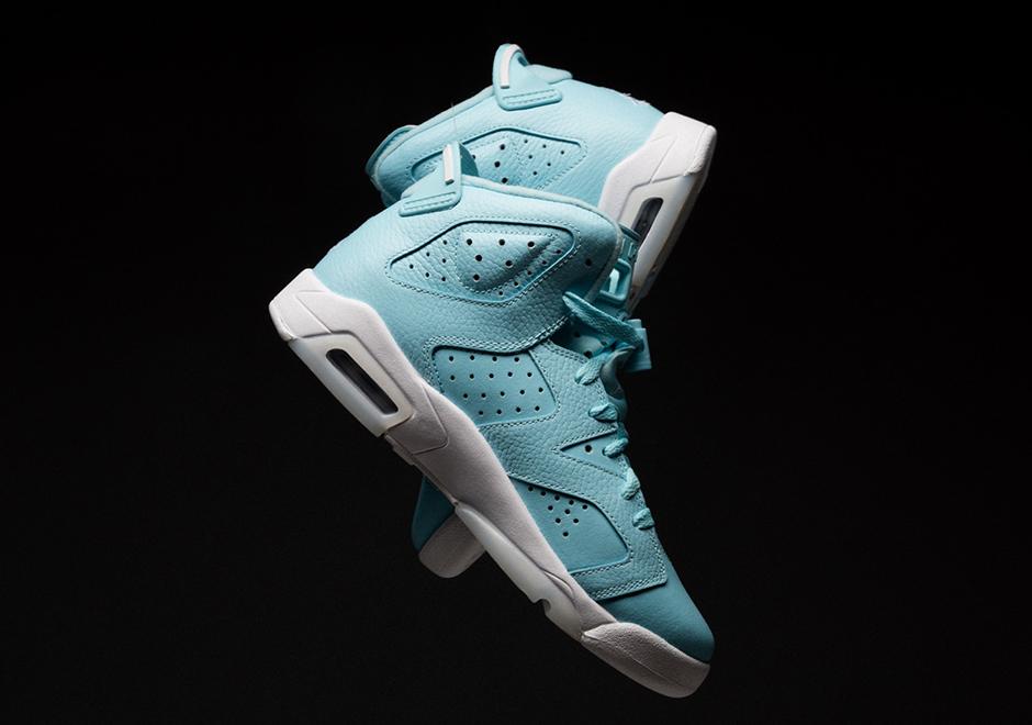 official photos 07a3a 11fd1 Where To Buy Air Jordan 6 Powder Blue   SneakerNews.com