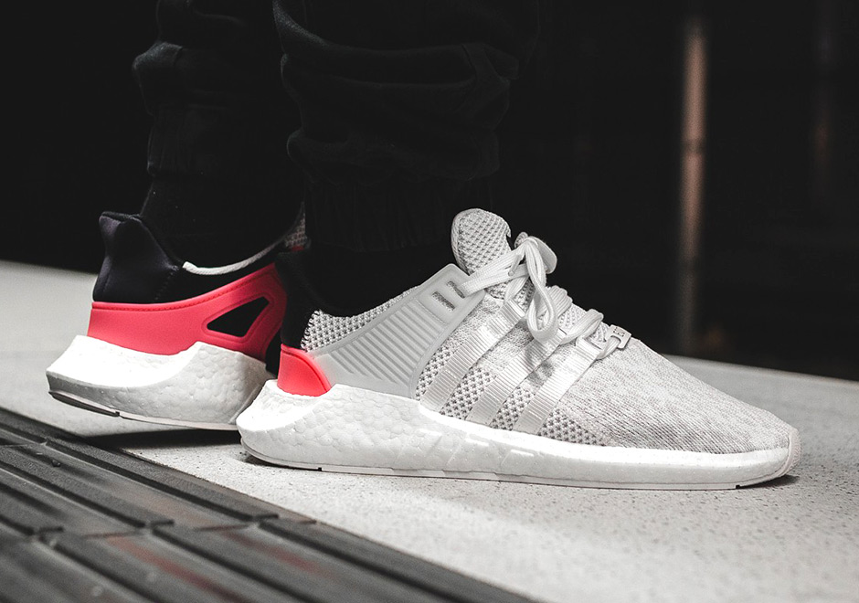 new concept 58b63 db977 After the adidas EQT Support 9317 debuted earlier this year and quickly  sold out in its first black and Turbo Red colorway, the Boost-loving masses  have ...