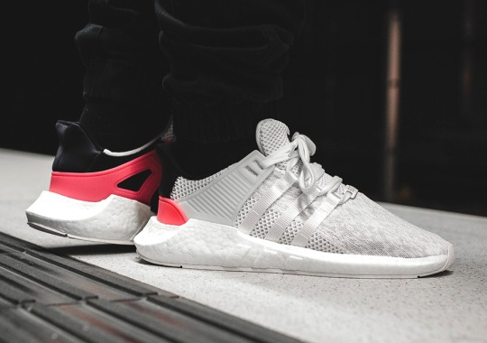 "Where To Buy The adidas EQT Support 93/17 ""Turbo Red"""
