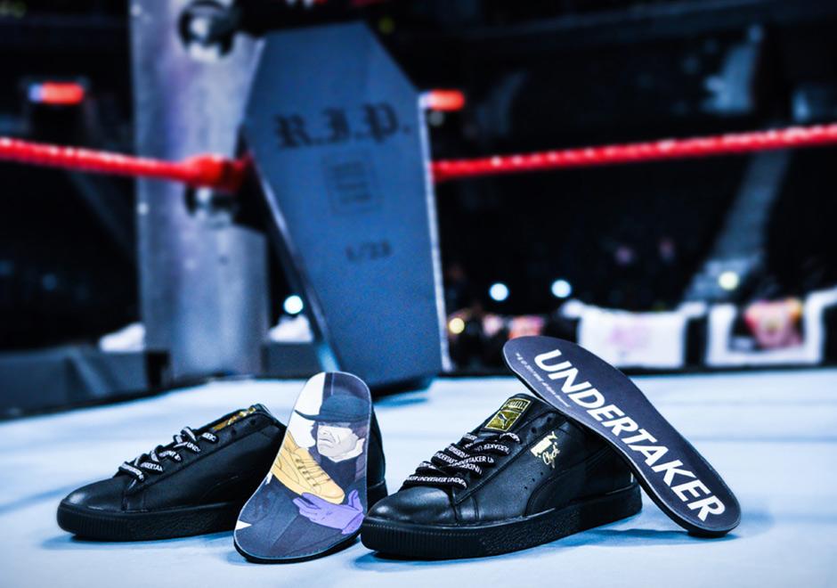 pretty nice 6f6c6 62e51 WWE Puma Clyde Wrestlemania Foot Locker | SneakerNews.com
