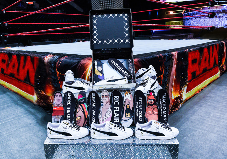 5c929da7f81 WWE Puma Clyde Wrestlemania Foot Locker