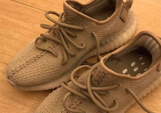 "adidas Yeezy Boost 350 v2 ""Earth"" Sample Surfaces"