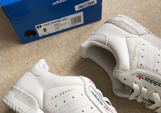 A Look At The adidas Yeezy Calabasas Powerphase Packaging