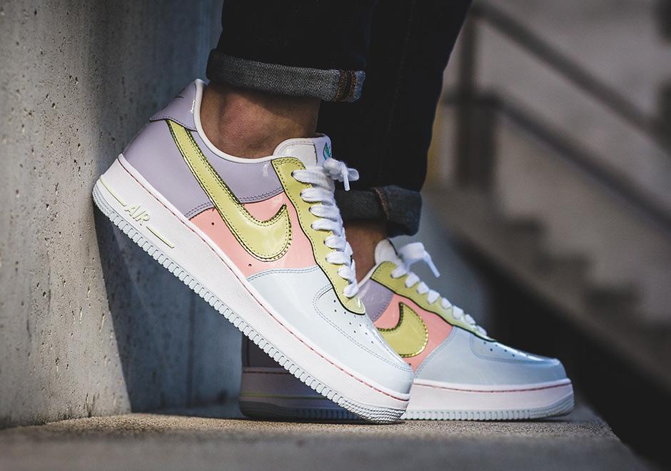 promo code ec268 8f679 Nike Air Force 1 Low Easter 2017 Retro 845053-500   SneakerNews.com