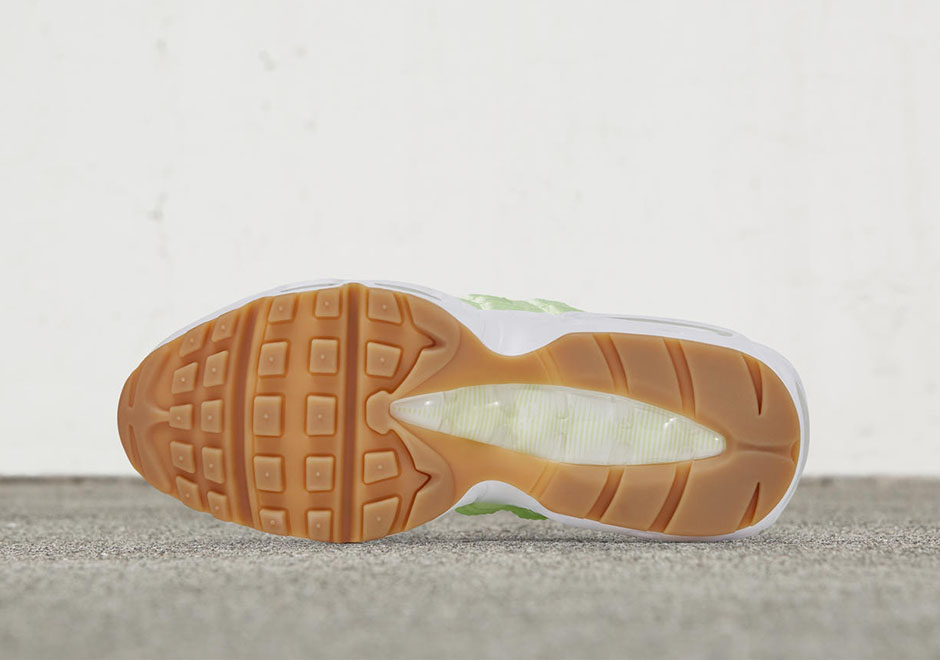 best loved 31b19 5bb5c Nike WMNS Air Max 95. Release Date: May 12th, 2017. AVAILABLE ON Nike.com  $140. Color: Liquid Lime/White-Gum Light Brown