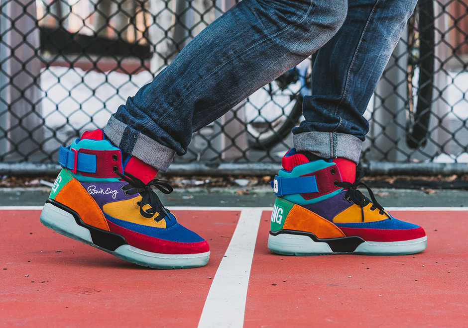 b9f26656fe990f Ewing Athletics gets wild with this latest colorway of the 33 Hi