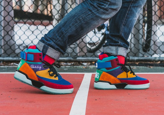 "Ewing Athletics Remixes Past 33 Hi Colorways For A ""What The"" Style Release"