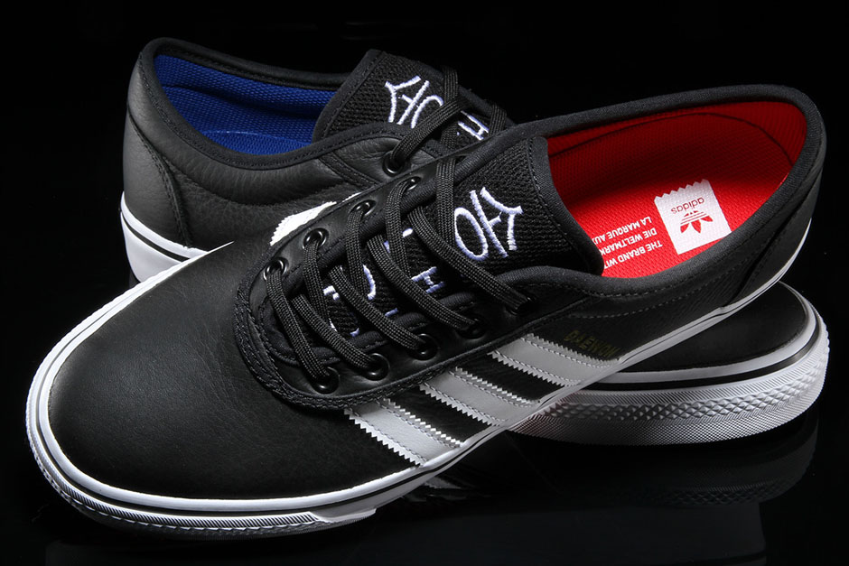 """hot sale online 828a9 c2c5a adidas Adi-Ease """"Daewon Song"""" Release Date Available now via Premier 65.  Color BlackWhite-Red-Blue"""