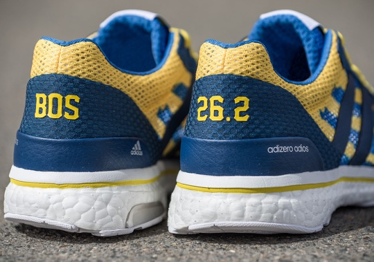 adidas Is Releasing Special BOOST Sneakers For The 2017 Boston Marathon