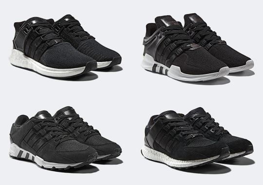 """low priced fa4ce 4381c adidas EQT """"Milled Leather"""" Pack Releases Next Week"""