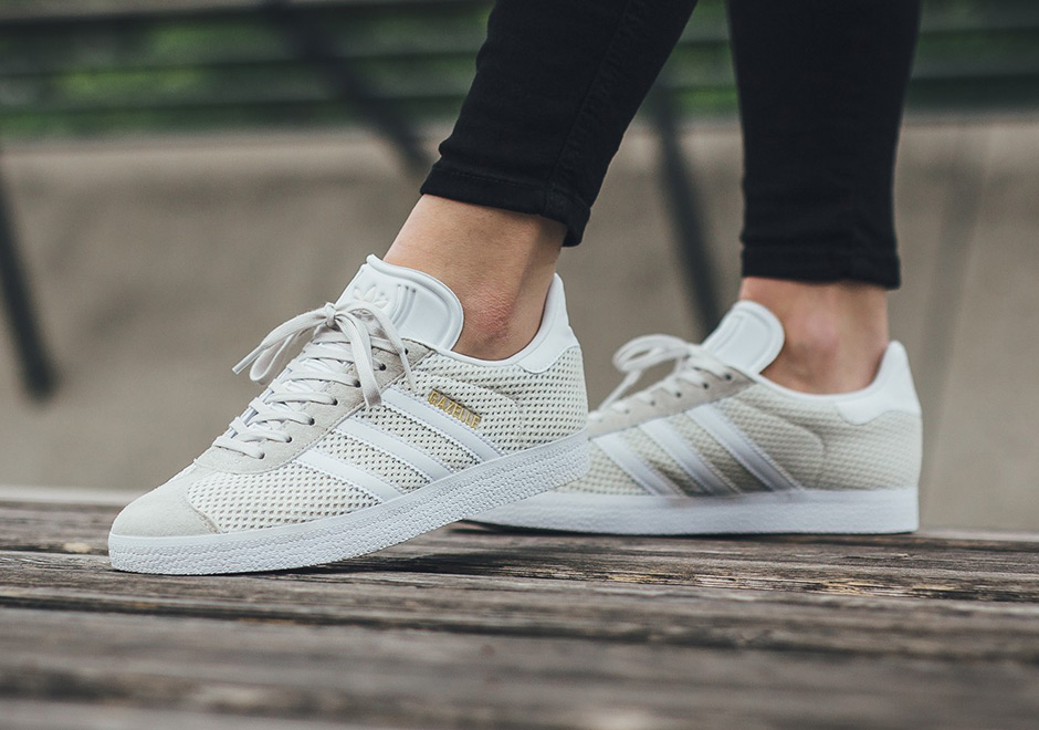grey adidas gazelle women