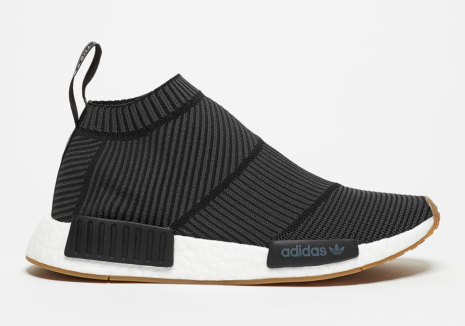 "half off dddf7 8c0fe adidas NMD City Sock ""Gum Pack"" Release Date  February 4th, 2017.  Restocking April 27th, 2017  180. Color  Footwear Core Black Footwear  White-Gum"