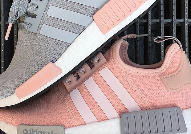 "97cc5a9a4e7 adidas NMD R1 ""Vapour Pink"" Pack Restocking At Foot Locker"