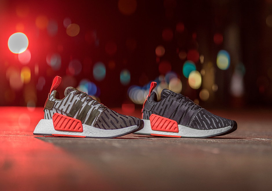 adidas nmd runner pk all white adidas nmd r2 white red