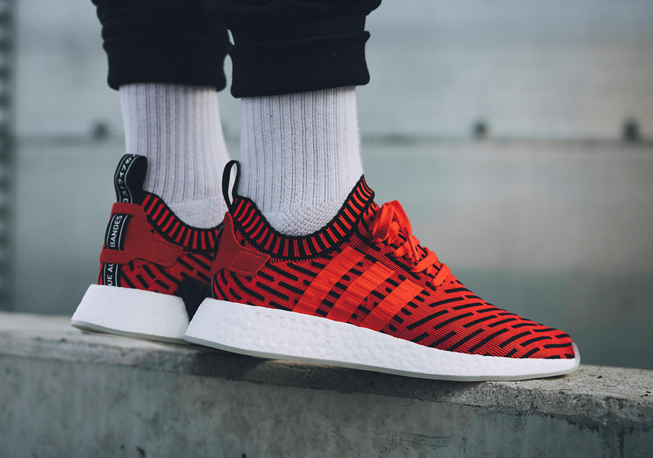 24648a7a7 adidas NMD R2 Core Red BB2910 Release Date