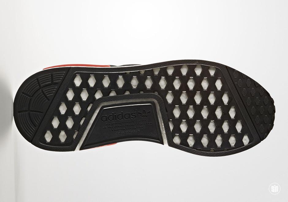 Adidas Nmd R1 Blanco Negro Rojo BfXLAnz