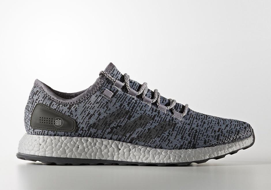 "d2a32505e3fef6 ... Dgh Solid Grey Mgh Solid Grey) PureBOOST LTD Shoes Grey Solid Grey  Clear Grey S80703 adidas Pure Boost LTD ""Triple Grey"" Release Date April  26th"
