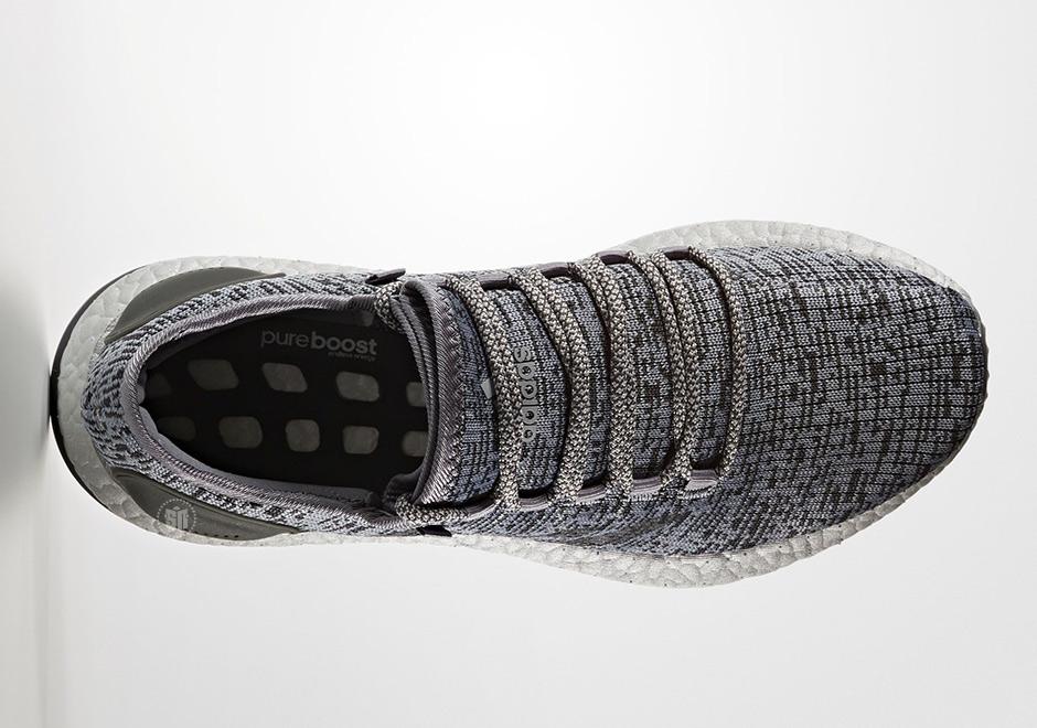 """16b83b5b2 adidas Pure Boost LTD """"Triple Grey"""" Release Date  April 26th"""