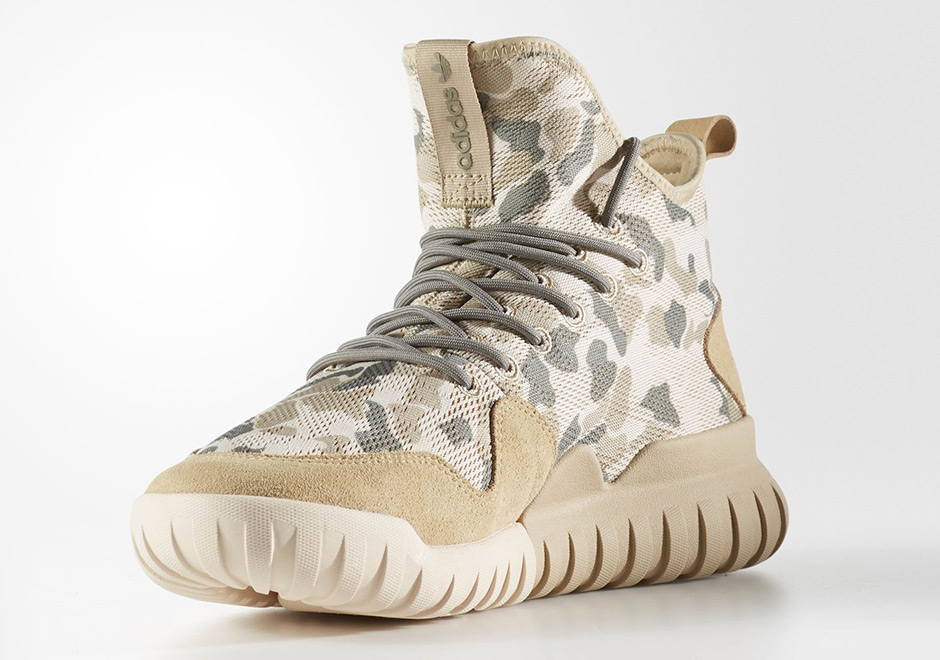 arrives 84274 67720 The Tubular X Uncaged camo pack will arrive soon at select adidas Originals  retailers. Advertisement