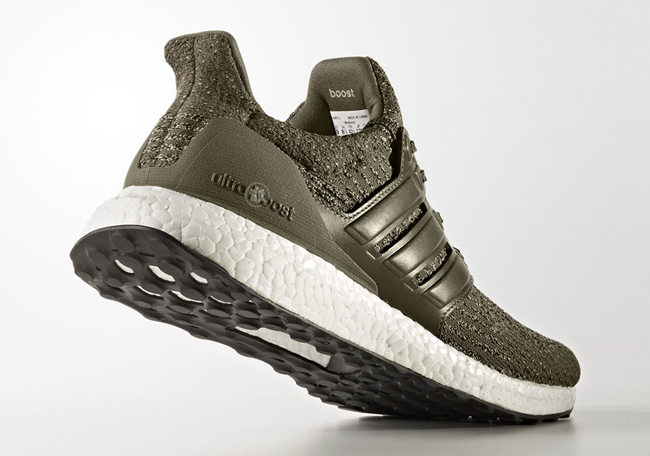 adidas Ultra Boost 3.0 Trace Olive S82018 | SneakerNews.com