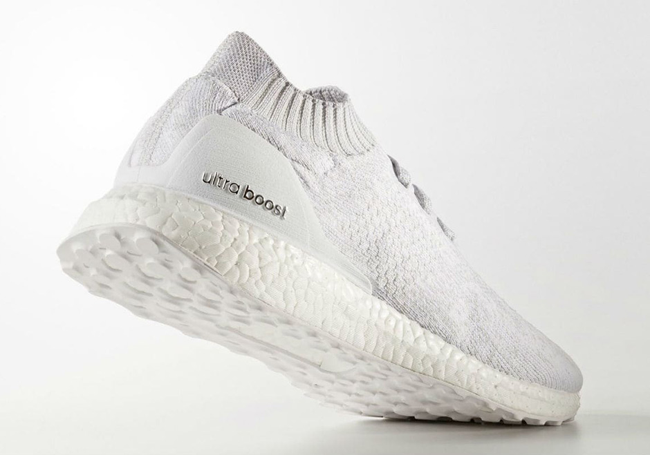 adidas ultra boost uncaged triple white by2549 june 2017. Black Bedroom Furniture Sets. Home Design Ideas