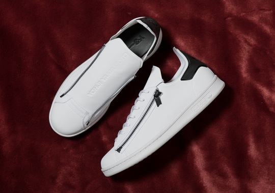 The adidas Y-3 Stan Smith Zip Releases With Black Accents