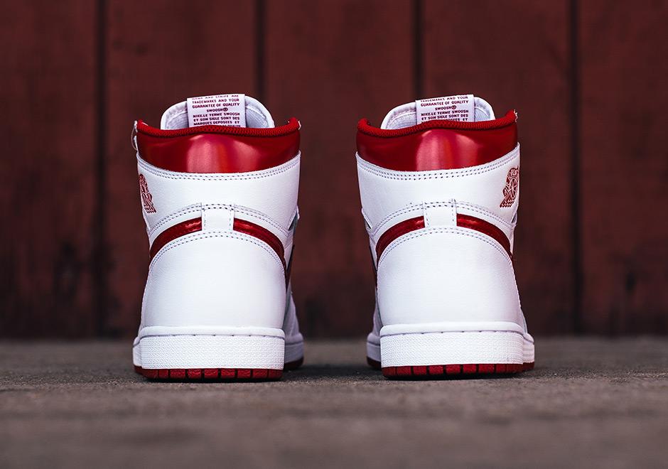 new styles 38b8e 1fcb5 Air Jordan 1 High OG Metallic Red 2017 Release Info   SneakerNews.com