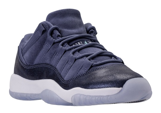 "Release Date For The Air Jordan 11 Low ""Blue Moon"""
