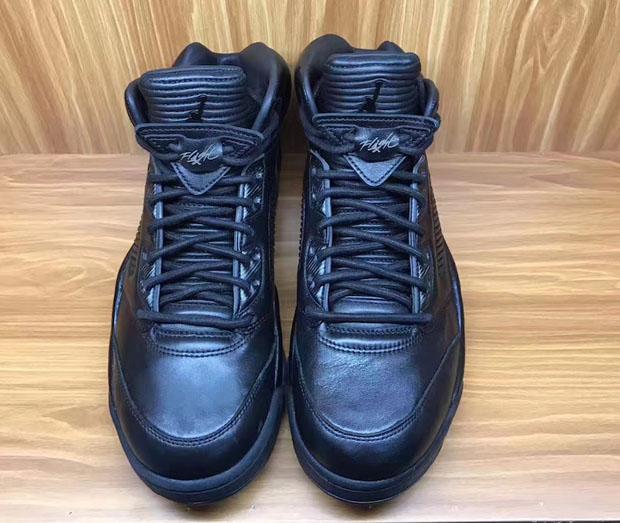 Air Jordan 5 Premium Triple Black Release Date |