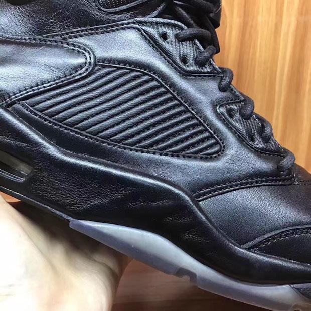 82079a2322a2cd Air Jordan 5 Premium Triple Black Release Date