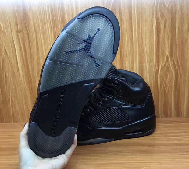 wholesale dealer 1aabb 8b896 Air Jordan 5 Premium Triple Black Release Date | SneakerNews.com
