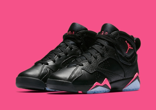 "Air Jordan 7 GG ""Hyper Pink"" Releases Next Weekend"