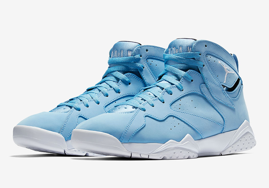 best website 184f6 75da4 Air Jordan 7 Pantone University Blue 304775-400 Release Date ...