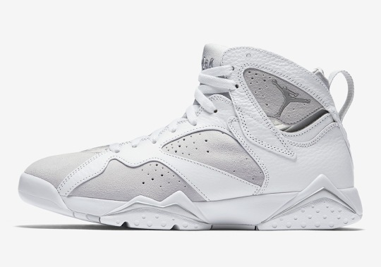 "The Air Jordan 7 ""Pure Platinum"" Releases On June 3rd"