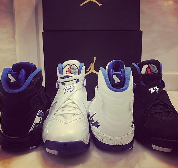 04fbf368ffc2f9 OVO Air Jordan 8 Calipari Pack