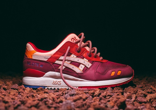 KITH Revisits The Volcano Colorway For The ASICS GEL-Lyte 3 And GEL-Diablo