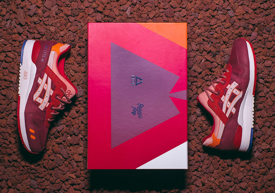 best loved e31e4 f4565 KITH Ronnie Fieg Asics Volcano 2.0 Release Date ...