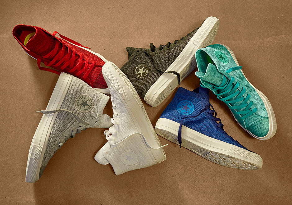 new style 080b0 30fa6 Converse Chuck Taylor Flyknit - Release Date Info ...