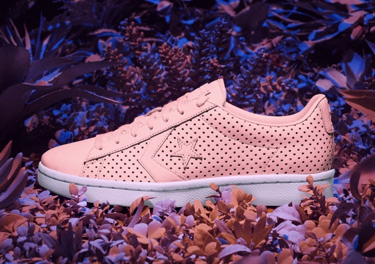 """The Converse Pro Leather """"Botanical Garden"""" Pack Drops Tomorrow At Foot Locker"""