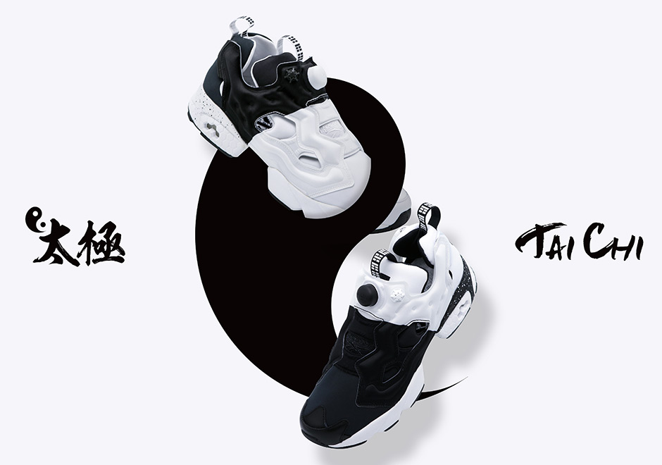 """0414ddb4709d Chinese sneaker shop DEAL teams up with Reebok for a very special """"Tai Chi""""  edition of the Instapump Fury. Continuing the tradition of bold colorways  for ..."""