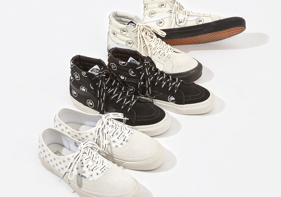 Womenswear specialists Goodhood London announced that they re collaborating  with Vans Vault on a three-piece footwear collection slated to drop  tomorrow 2518fbe9fb