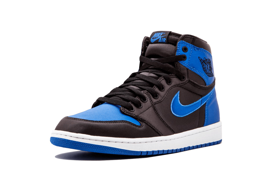1dc067983f094c Air Jordan 1 Royal Satin NYC Release Info