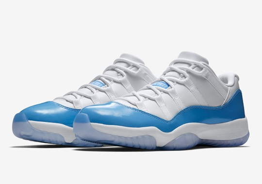 "Air Jordan 11 Low ""UNC"" Available Now On Nike Early Access"