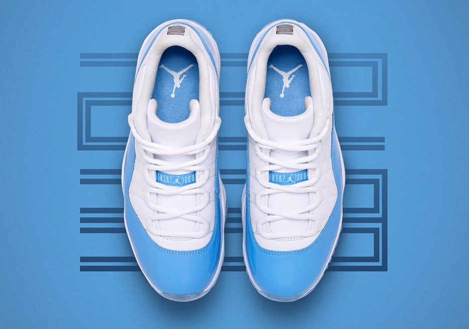 7b2ad06b05c Air Jordan 11 Low UNC Full Family Sizes
