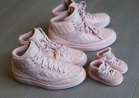 DJ Khaled And His Son Asahd Have Just Don Jordan 2s That You'll Never Get