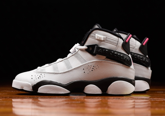 """Jordan Six Rings """"Pink Flash"""" Releases Exclusively For Girls"""