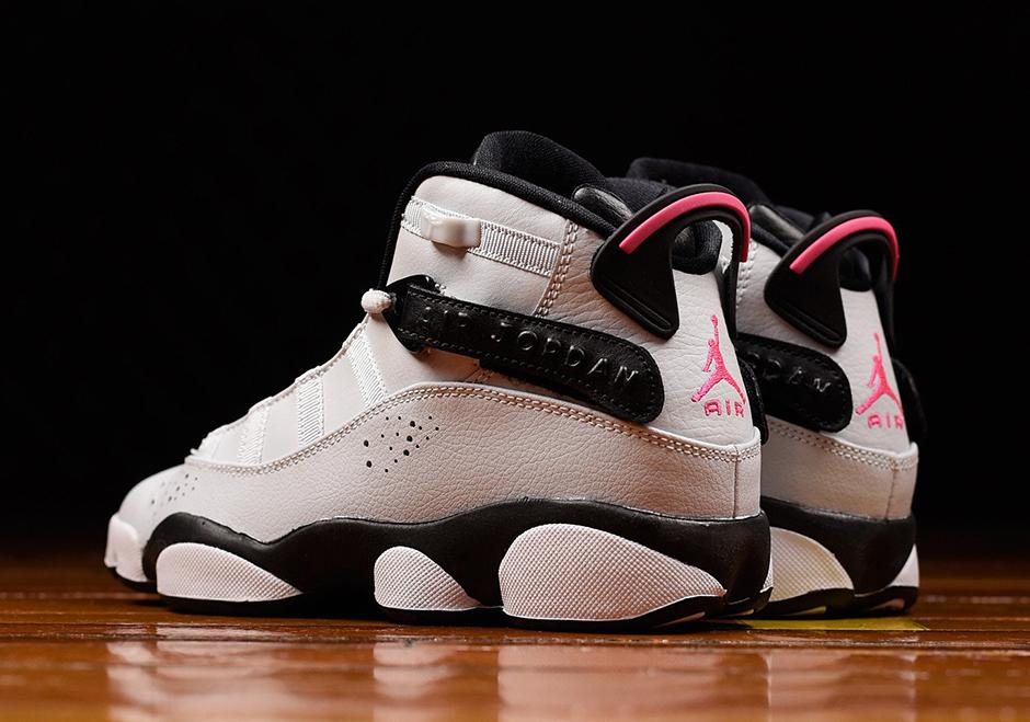 low priced 040c6 c97f5 Jordan Six Rings Pink Flash 323399-009 | SneakerNews.com